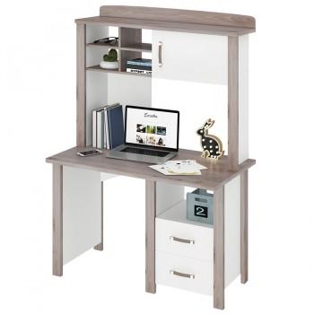 Письменный стол СТД-115 с тумбой и надстройкой Bartolo