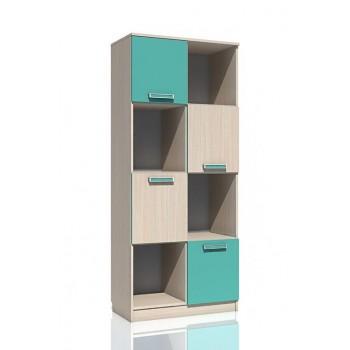 Шкаф книжный НМ 009.06М Рико