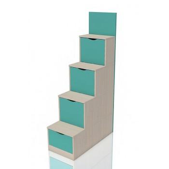 Лестница с ящиками НМ 011.64 Рико