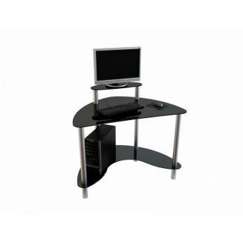 Угловой компьютерный стол Mist-01 анод. алюм.