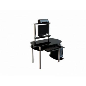Компьютерный стол Noir-02 анод. алюм