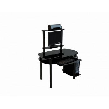 Компьютерный стол Noir-02 черный лак
