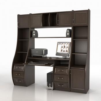 Компьютерный стол КС-1К БЕРКУТ со стел. ТРИУМФ СФ-403Д и 433Д