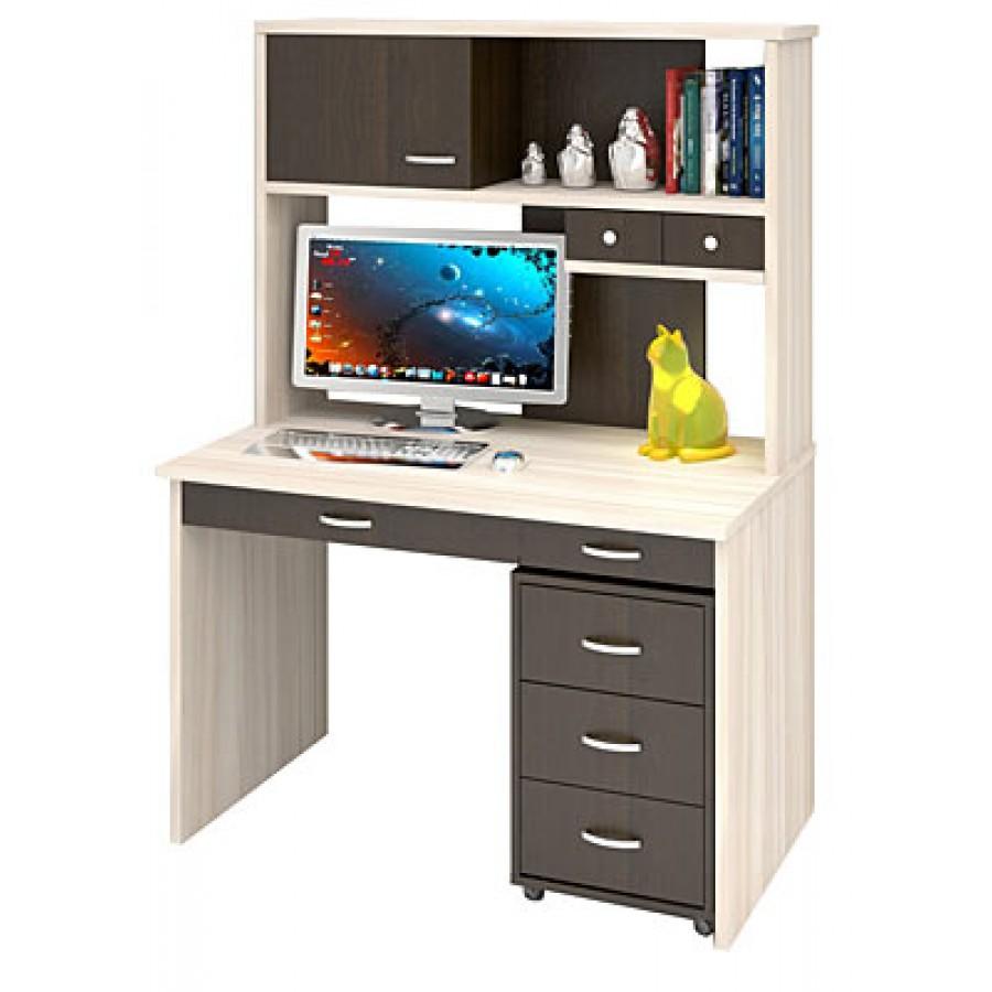 Компьютерный стол ск-60 с тумбой тс-1 - купить в интернет-ма.