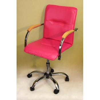 Компьютерное кресло Самба (пятилучье) фуксия