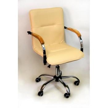 Компьютерное кресло Самба  (пятилучье) беж