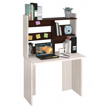 Компьютерный стол СКЛ-ПРЯМ100+НКЛ-100 без тумбы