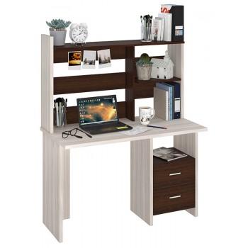 Компьютерный стол СКЛ-ПРЯМ120+НКЛ-120