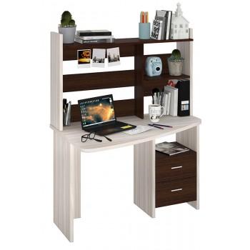 Компьютерный стол СКЛ-КРЛ120+НКЛ-120