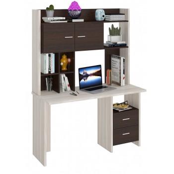 Компьютерный стол СКЛ-ПРЯМ130+НКЛХ-130