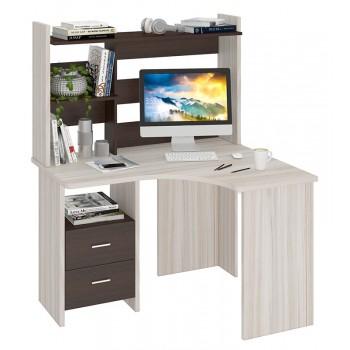 Угловой компьютерный стол СКЛ-УГЛ120+НКЛ-120