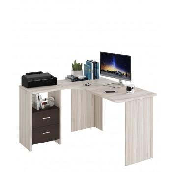 Угловой компьютерный стол СКЛ-УГЛ130