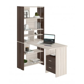 Компьютерный стол СТЛ-ОВХ+С100ПРЯМ+ТЯЛ