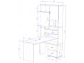 Угловой стол СР-720-140