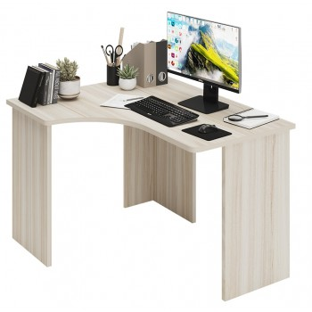 Угловой компьютерный стол СКЛ-УГЛ120 без тумбы