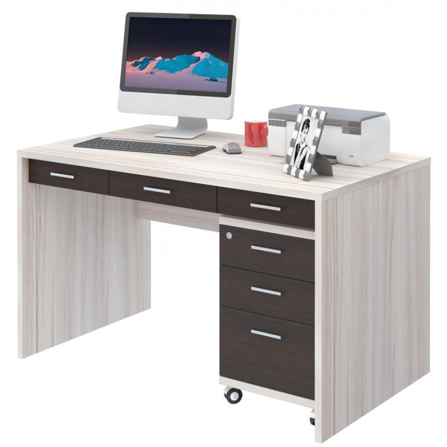 Письменный стол СП-82С с тумбой ТС-2