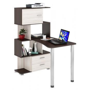 Компьютерный стол СЛ-5-4СТ-2-БЯ-БД