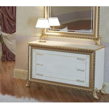 Комод Версаль беж c зеркалом
