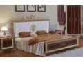 Кровать Версаль 160 орех (мягкое изголовье)
