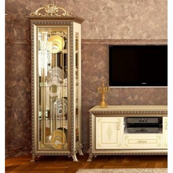 Витрина 1-но дверная Версаль беж