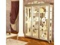 Витрина 3-х дверная Версаль беж