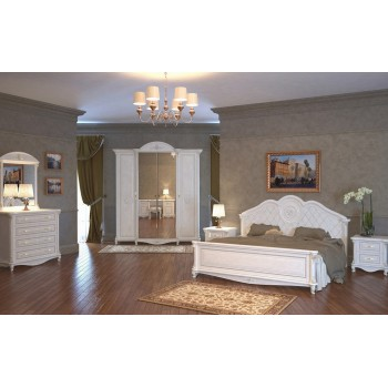 Спальня Да Винчи-1 белая