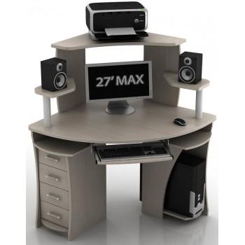 Угловой компьютерный стол КС-2/КН-1 Сокол
