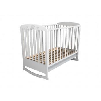 Кровать детская НМ 041.04 с ящиком Лилу Слоники