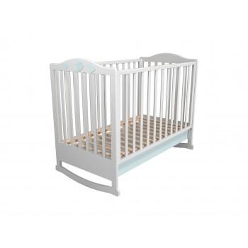 Кровать детская НМ 041.04 с ящиком Лилу Птички