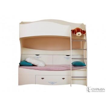 Двухъярусная кровать Прованс НМ 011.74