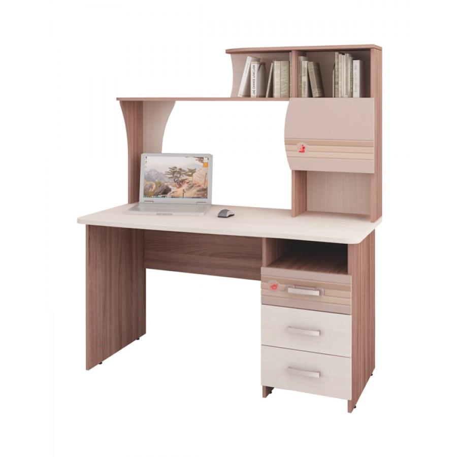 Письменный стол Британия 52.13 с надстройкой 52.18