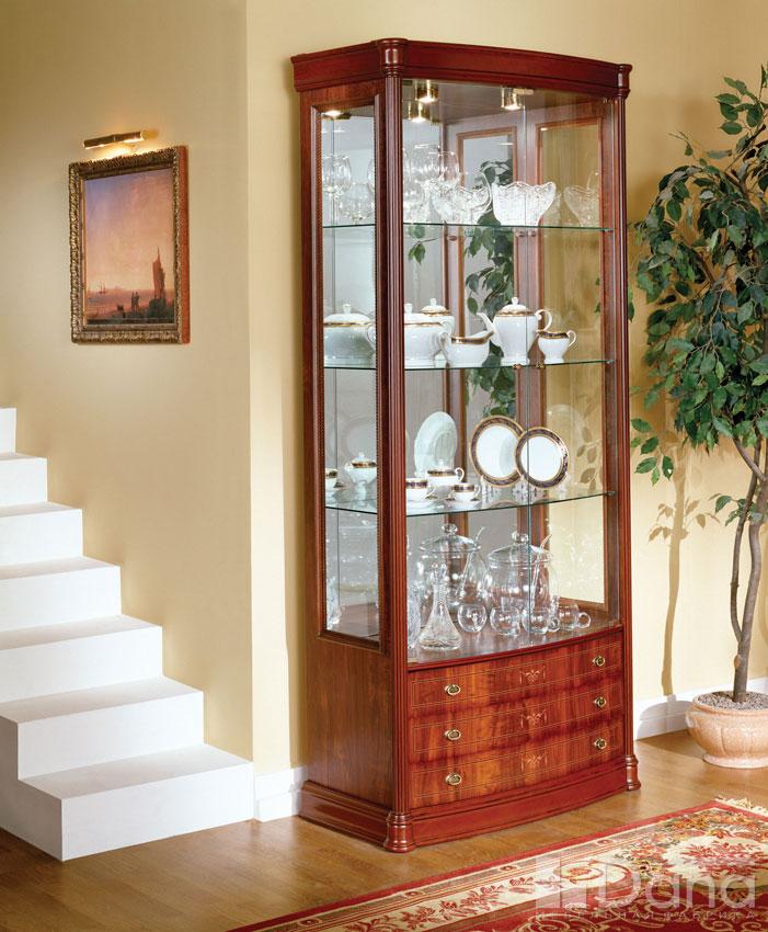 пошаговыми витрина для посуды в гостиную Ульяна Александровна