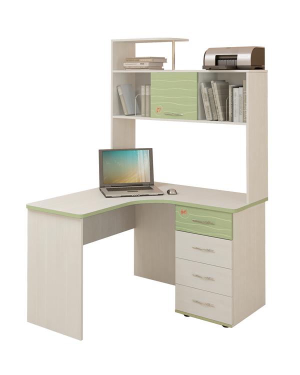 угловые письменные столы для школьников купить угловой письменный